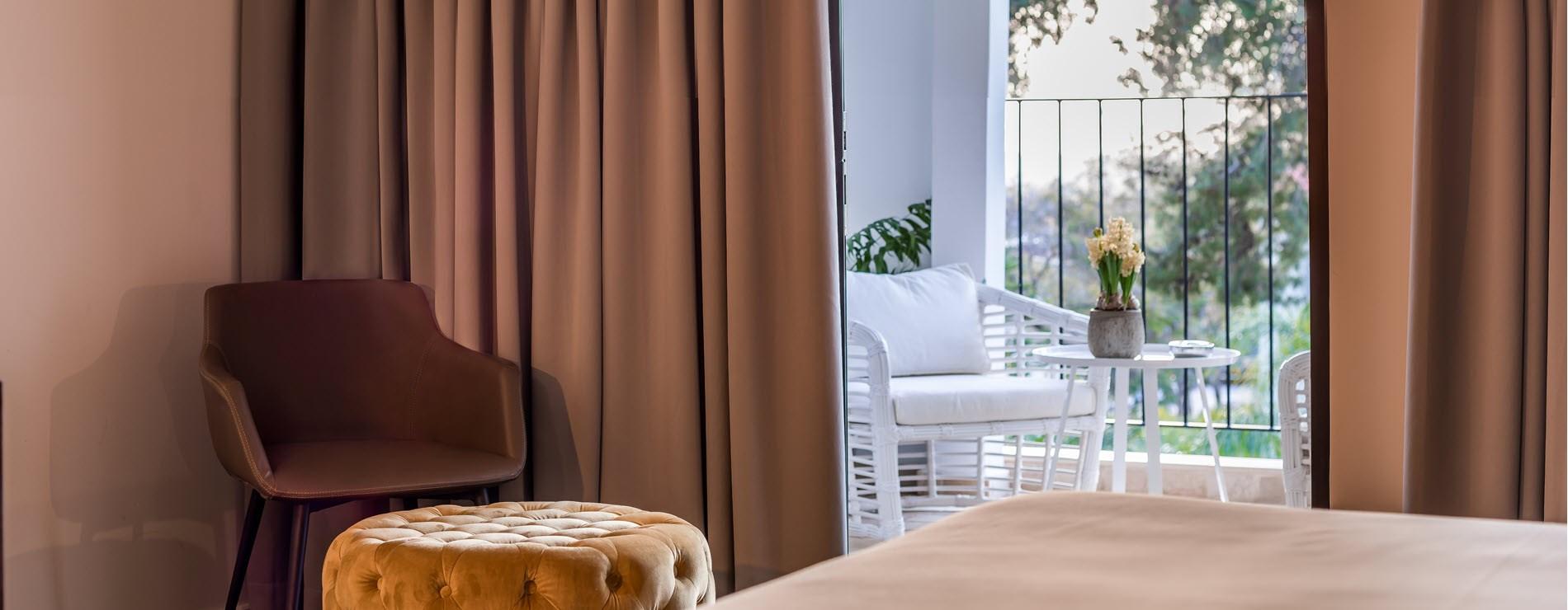 מלון בוטיק ליר גדרה - חדרים