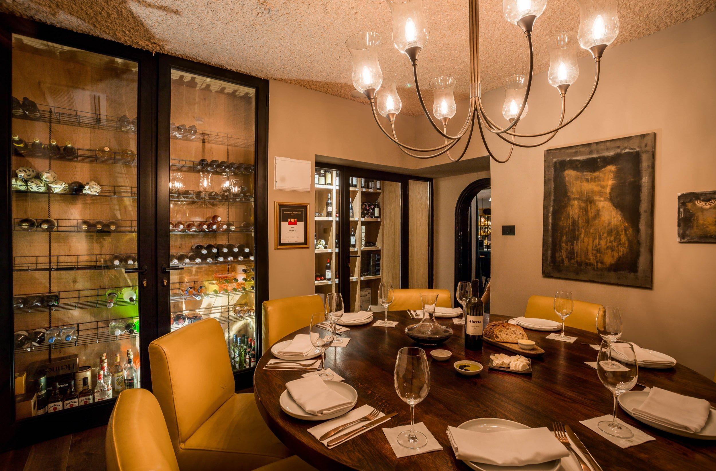 מלון ליר - חדר יין, חדר סיגרים וחדר