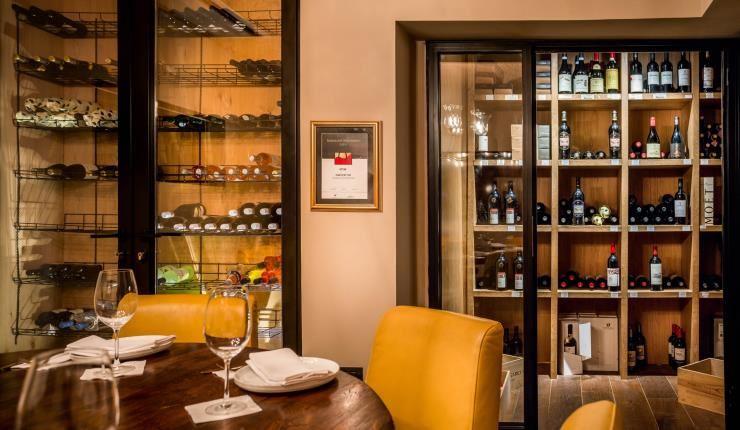 חדר יין, חדר סיגרים וחדר VIP
